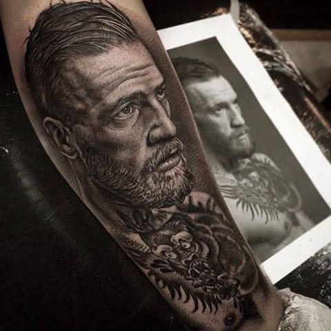 Conor McGregor Fans Put Their Passion In Ink!