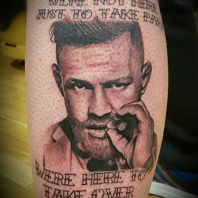 Conor McGregor Tattoo by Darren Livingstone