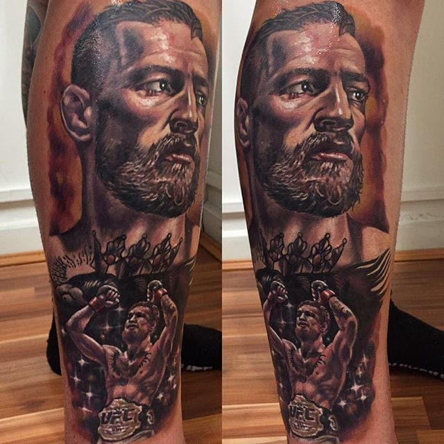 Conor McGregor Tattoo by Kristian Kimonides