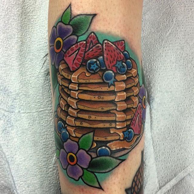 Breakfast Tattoo by Megon Shoreclay