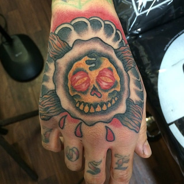 Breakfast Tattoo by Steven Cikos