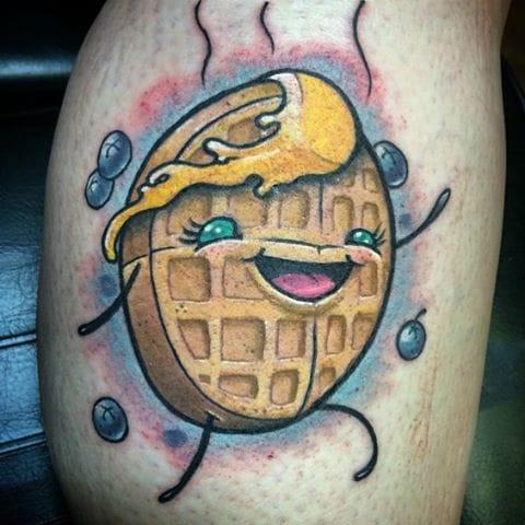 Breakfast Tattoo by Will Carr