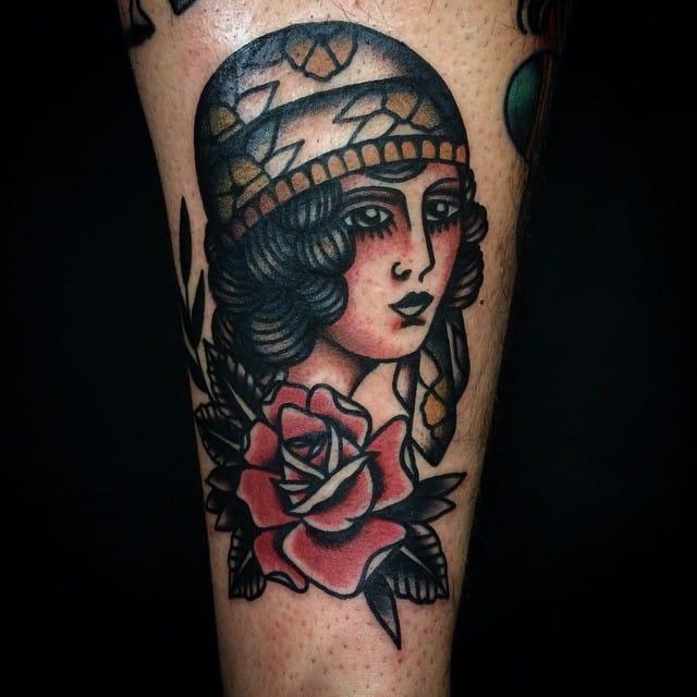 Girl tattoo #MicheleIanni