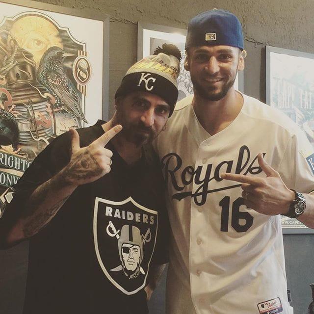 Orlando at Skink Social Club with Georgio Antonio Tattoo