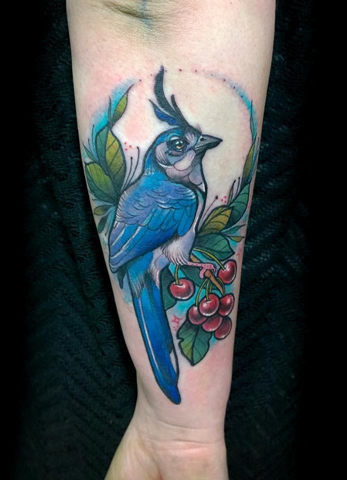 Artist: Nastia Zlotin, NZ Tattoo, Tel Aviv