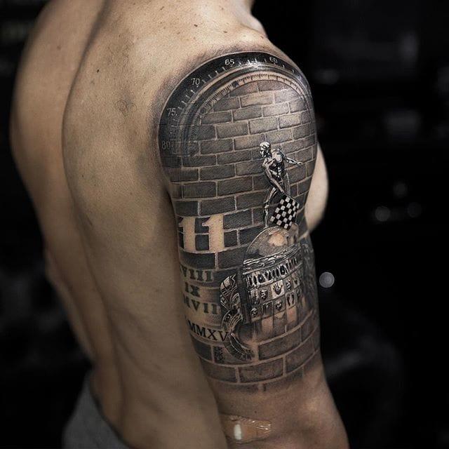 Kanaan's New Tattoo!