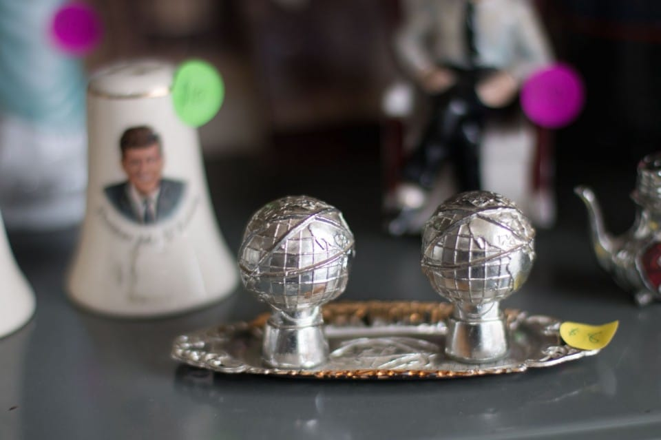 You can find rare antique trinkets for sale