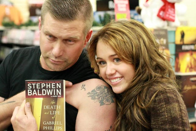 Stephen Baldwin Has A Hannah Montana Tattoo?