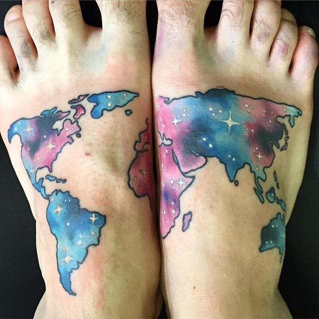 Have the world at your feet! By Joice Wang.