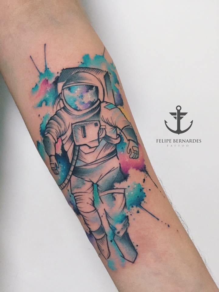 Cosmic ink.