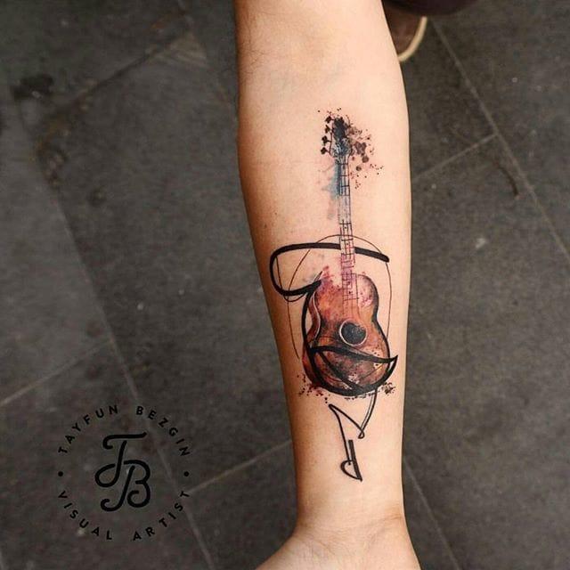 Creative tattoo by Tayfun Bezgin.