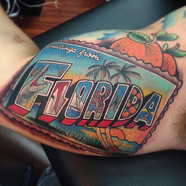 Awesome tattoo by Tyler Nolan!
