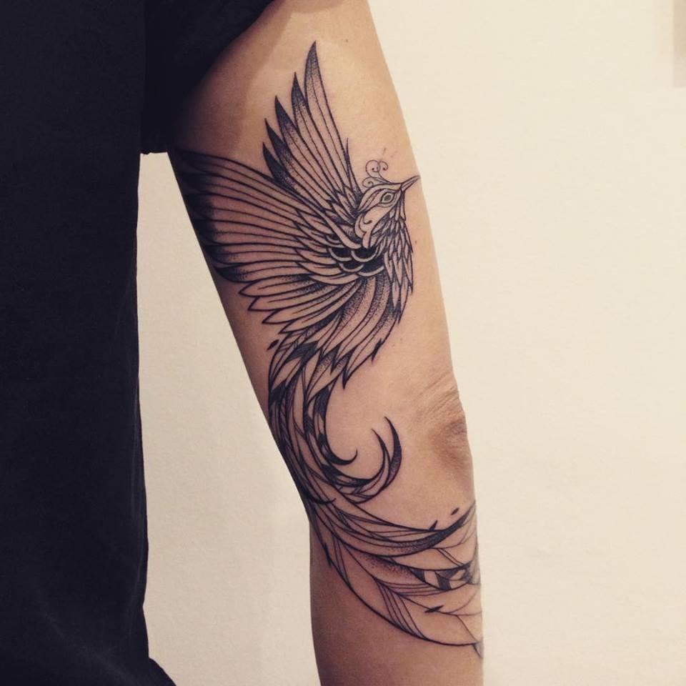 Lovely phoenix #SupaKitch