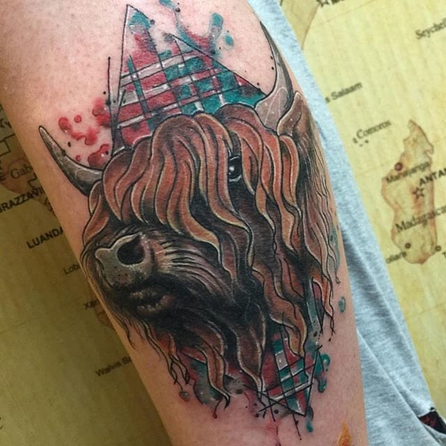 23 Scottish Tattoo Designs Ideas: 25 Undeniably Scottish Tattoos
