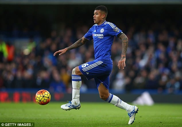 Kenedy In Action For Chelsea