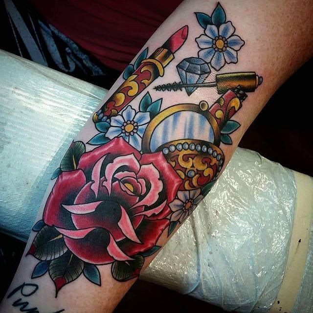makeup artist tattoo ideas - photo #13