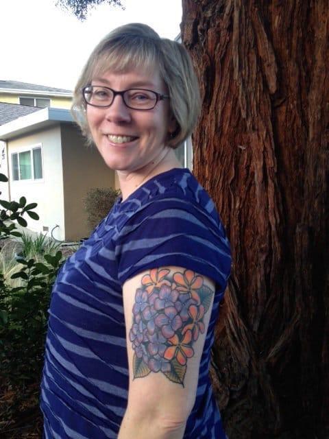 Margret Bierma got her first tattoo at 50