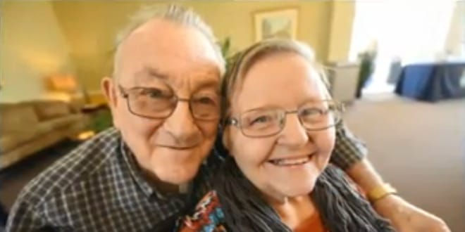 The couple celebrated 59 long years of marriage