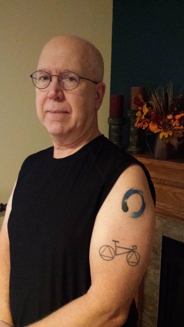 Ken Presley is just beginning his tattoo journey