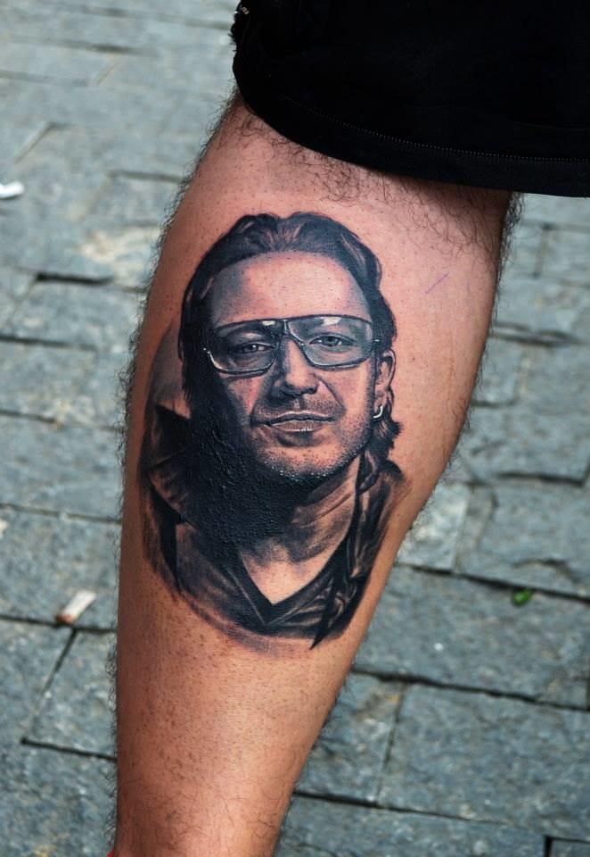 Portrait Bono Vox, U2