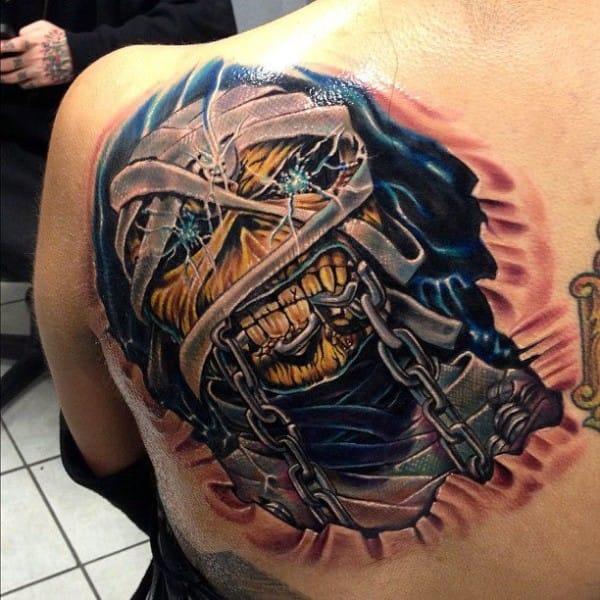 19 Killer Eddie Tattoos For Iron Maiden Fans