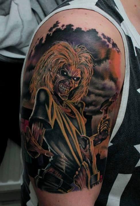 19 killer eddie tattoos for iron maiden fans tattoodo