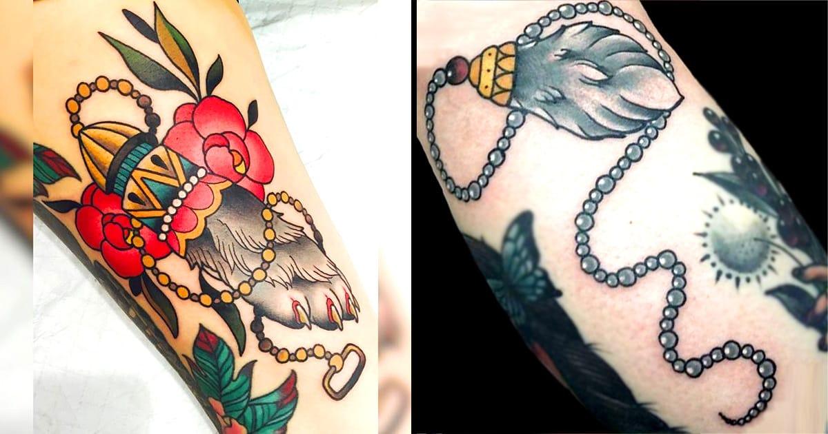 10 Lucky Rabbit's Foot Tattoos | Tattoodo