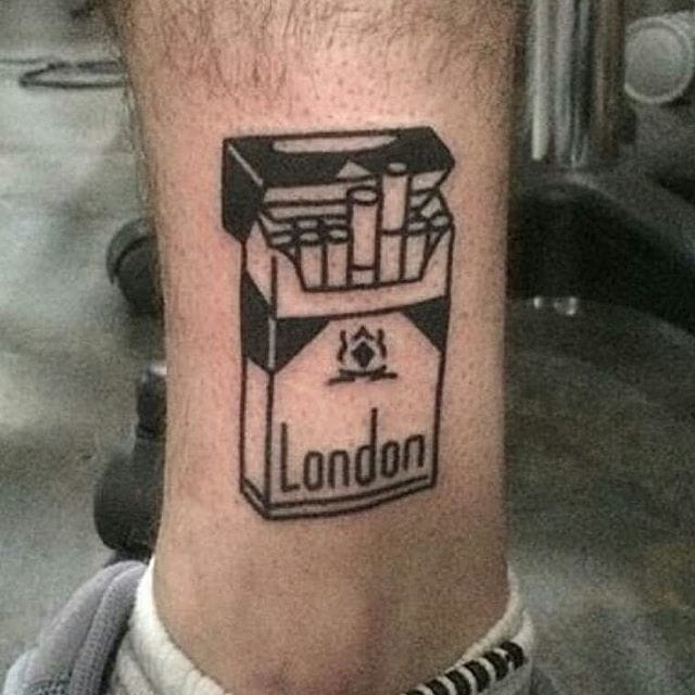 London Pack tattoo by @dicky1981
