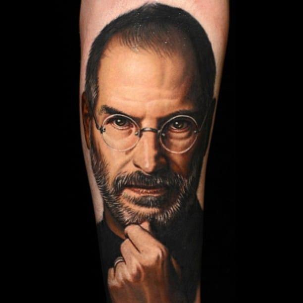 8 Steve Jobs Tattoos For All Apple Fans!
