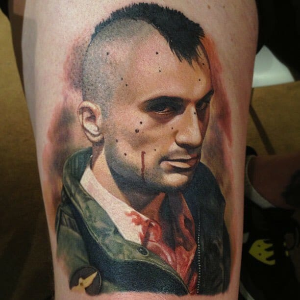 Lively Portrait Tattoos By Carlos Rojas