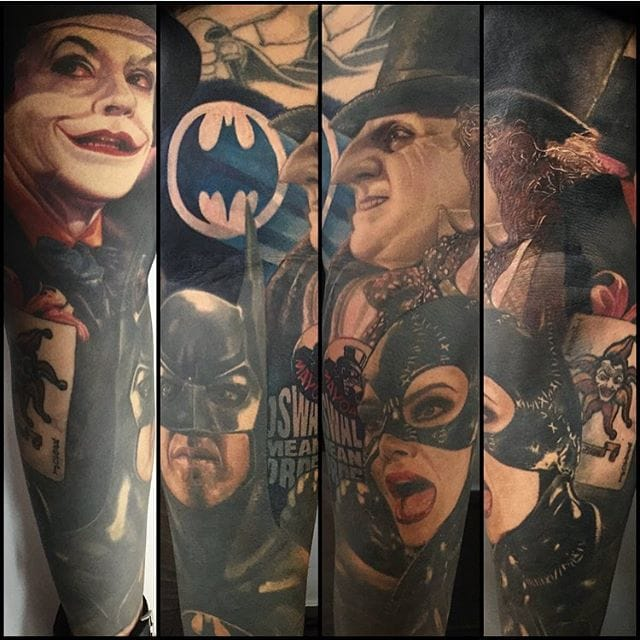 Batman inspired collection by Carlos Rojas