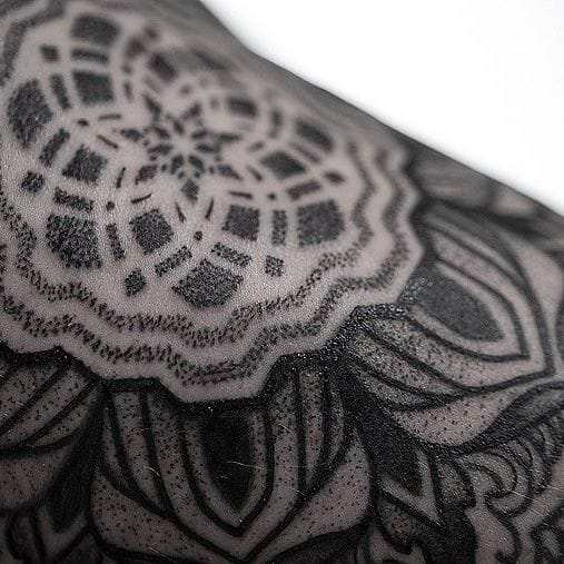 Intricate And Clean Black Tattoos By Dillon Forte