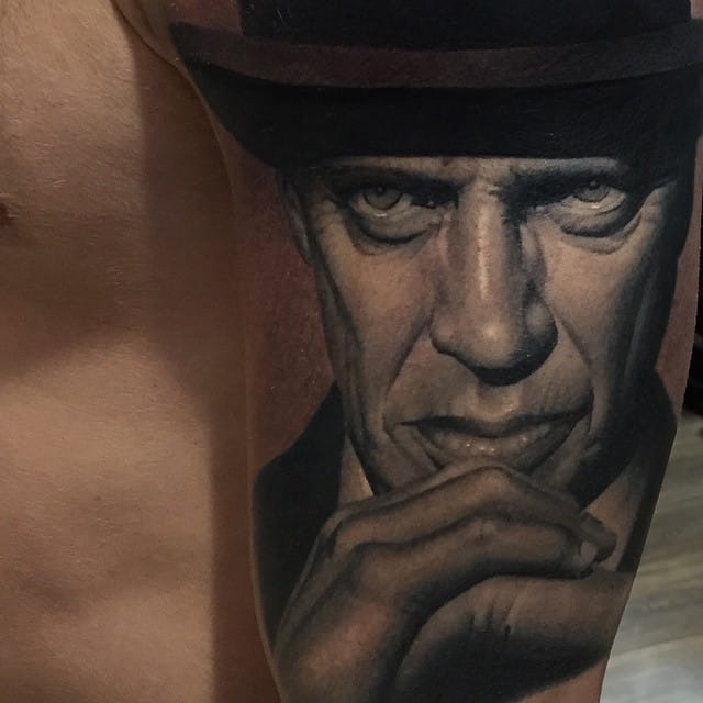 Incredible details on this tattoo by #RyanEvans