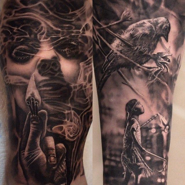 Abstract beautiful tattoos #MatthewJames