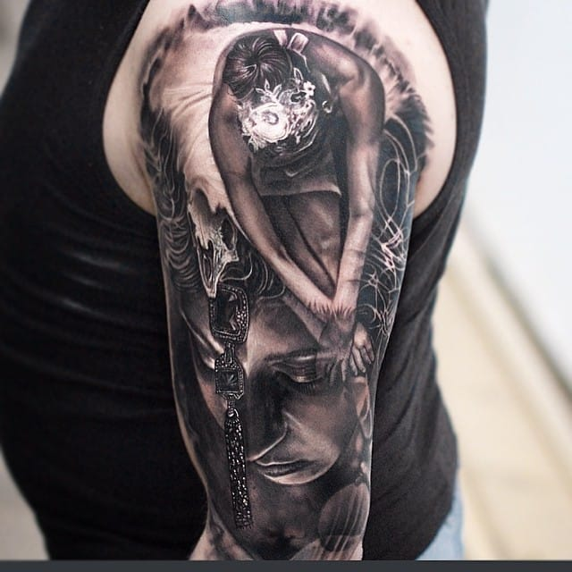 Awesome tattoo by Matthew James