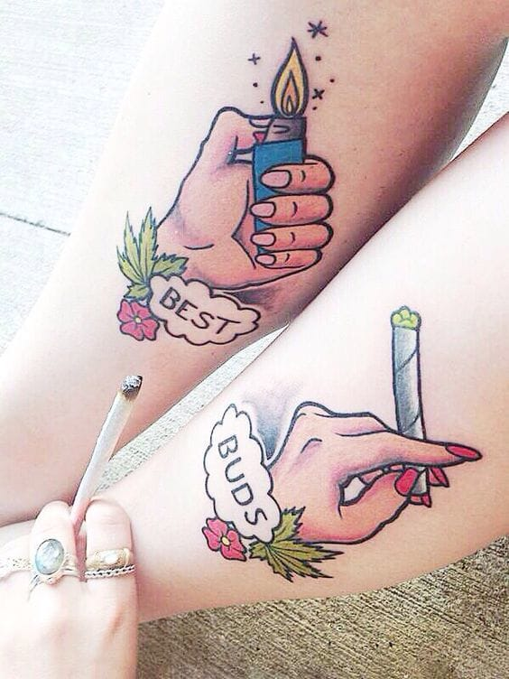 Best Bud Tattoos for Bud Smokers