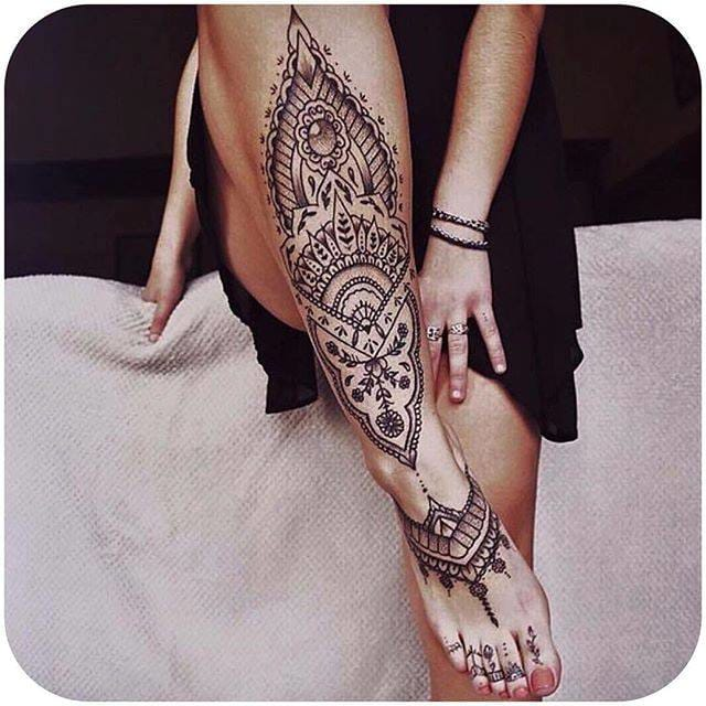 (@tattootontemps_) #decorative #linework