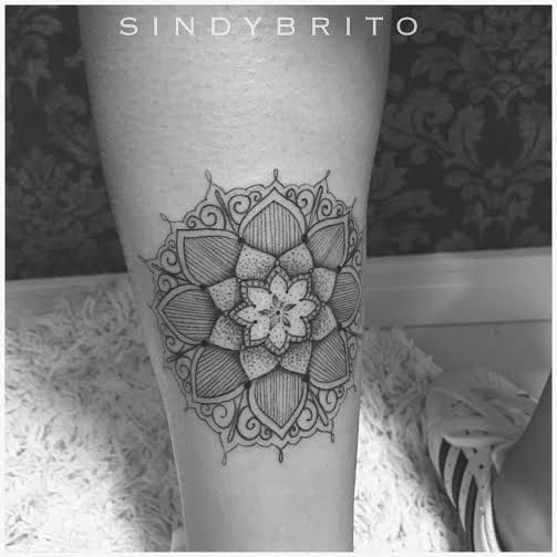 20 Tatuagens Blackwork Da Artista Sindy Brito