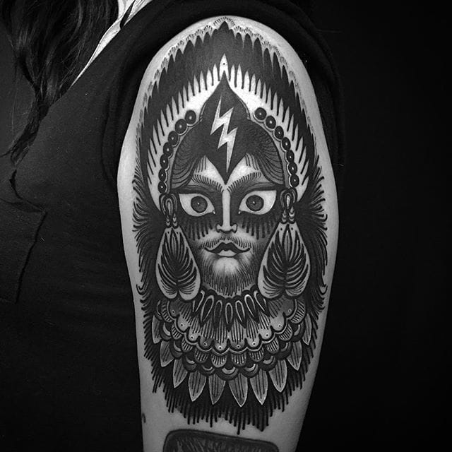 Awesome Black Tattoos by Laura Yahna
