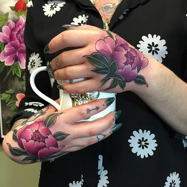 Japanese Style: Beautiful Flower Tattoos by Rodrigo Souto