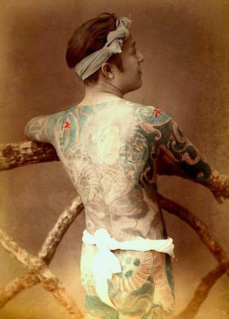 Via Tokyo Telephone #Yakuza #tattooart