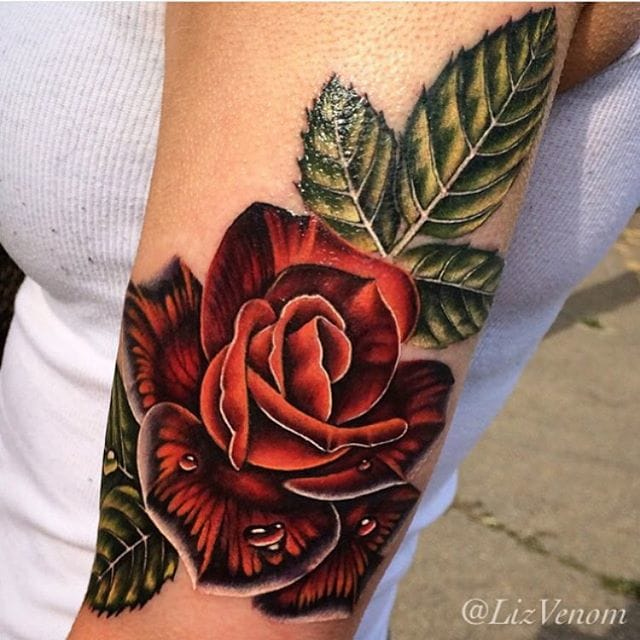 Tattoo by Liz Venom