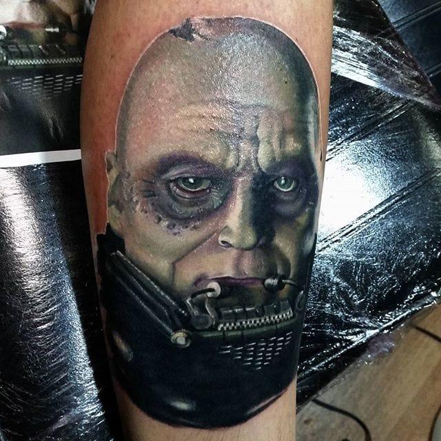Portrait Tattoo by #AlexWright