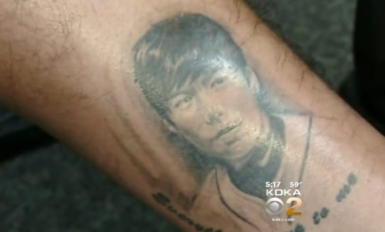 Yep That Really Is A Self-Portrait Tattoo! #junghokang