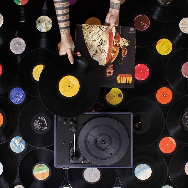 Music is the key #ponypork #whatsmyhandsaredoing #tattooedartist