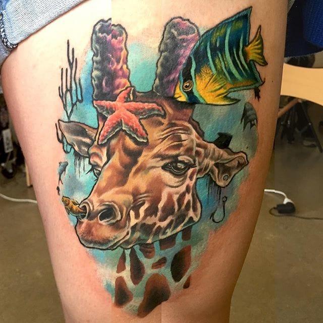Tattoo by Lauren Fenlon. All photos from Lauren Fenlon.