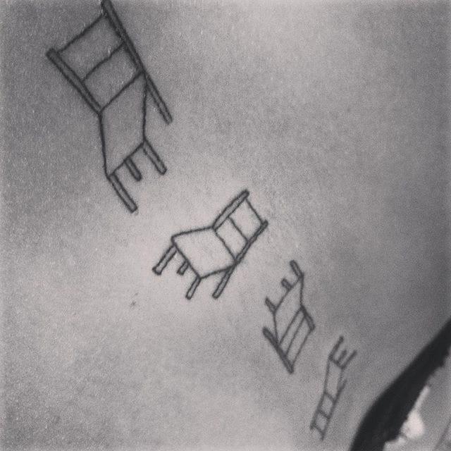 Spinning chairs, by Giulia Tauru