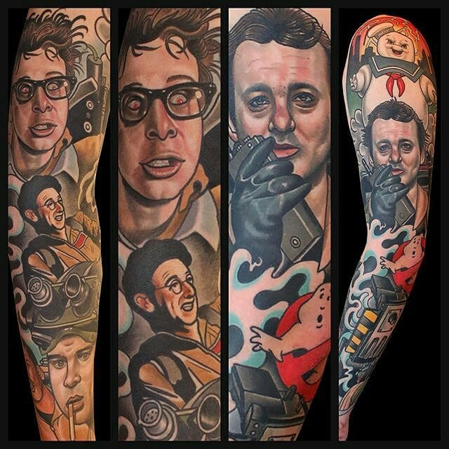 15 Thrilling Ghostbusters Tattoos