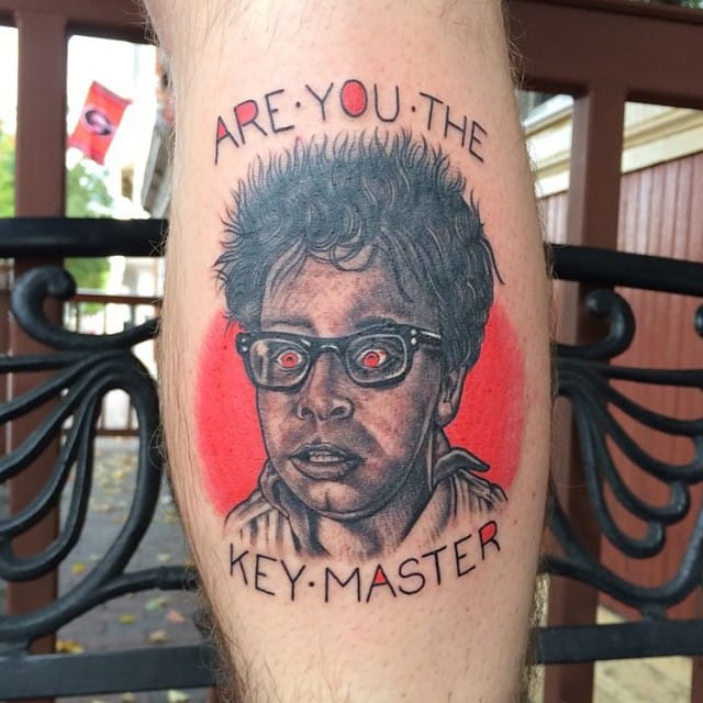 Tattoo by Todd Gregg #ghostbusters #movie #portrait #toddgregg