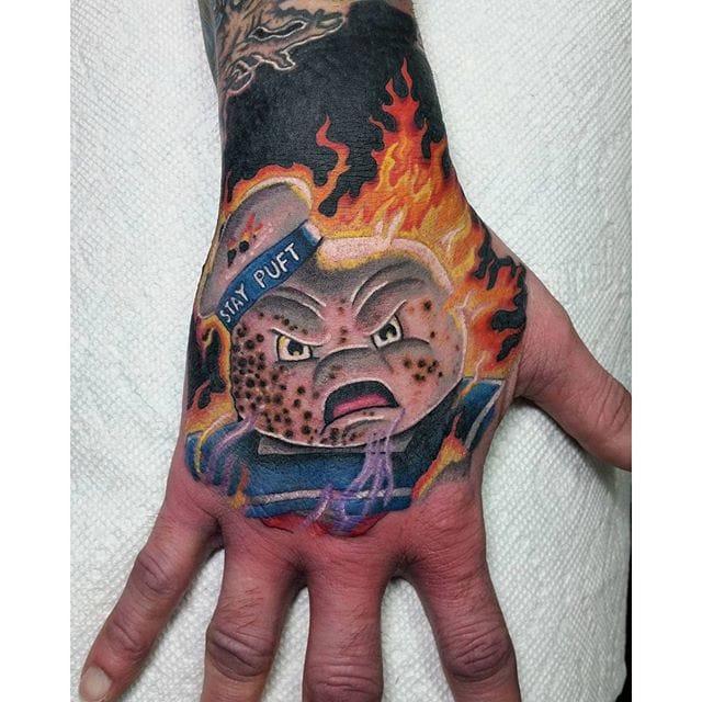 Tattoo by Zac Kinder #ghostbusters #movie #portrait #zackinder